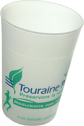 Gobelet Réutilisable Touraine Propre